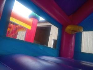 1Princess Castle bounce house moonwalk