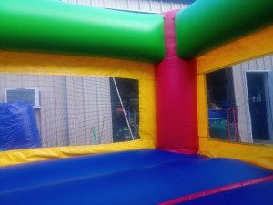 7Fun Indoor Out Red Bounce House moonwalk
