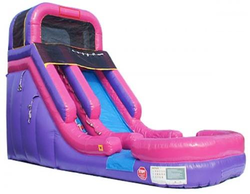 9Pretty Princess Wet Dry Water slide