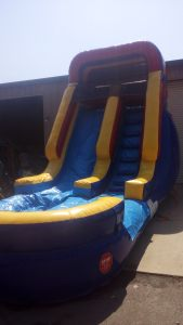 16Deep Blue Wet Dry Slide