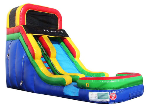 3Rainbow Rising Wet Dry slide​