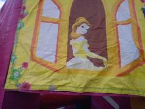 Mega Princess bounce house combo princess