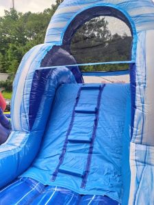 Blue Lagoon Wet Dry slide ladder