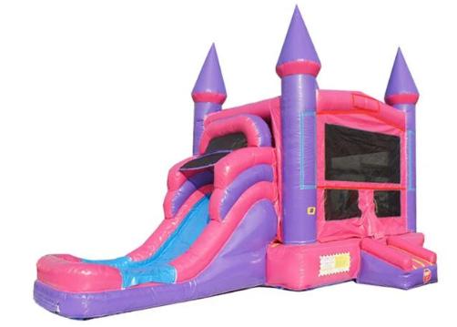 Fairy Tale combo Wet Dry bounce house moonwalk