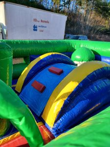 Kiddie Land Bounce slide