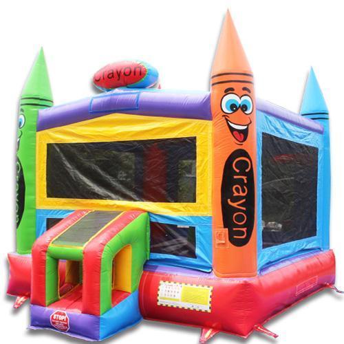 Crayon bounce house 2