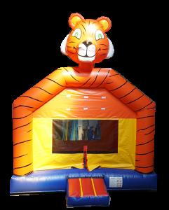 Aubie Tiger bounce house