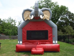 Big Al Bounce house front