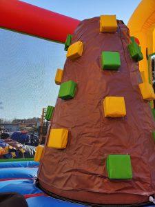 Animal Kingdom climbing wall