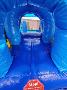 Sports Arena Bounce House entrance