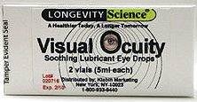 Visual Ocuity eye drops