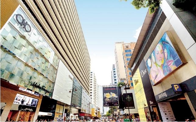Canton Road, Tsim Sha Tsui