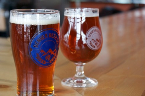Denver Beer Company - two different IPA's on tap..try them both!