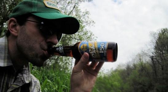 Good like a riverside beer.