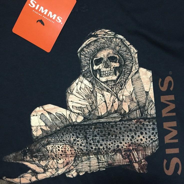 Pro Series t-shirt for Simms. Summer 2017.