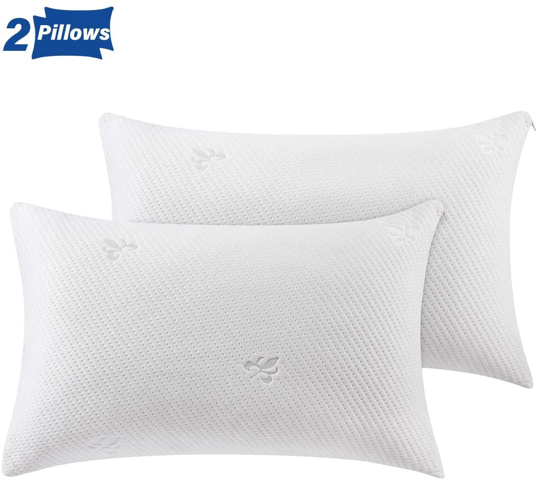 utopia bedding gusseted pillow 2 pack