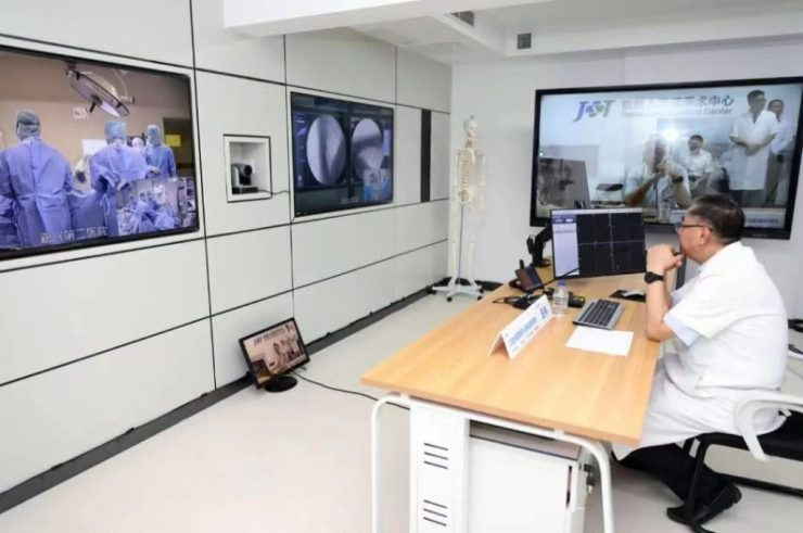 Remote surgery using robots advances with 5G tests in China