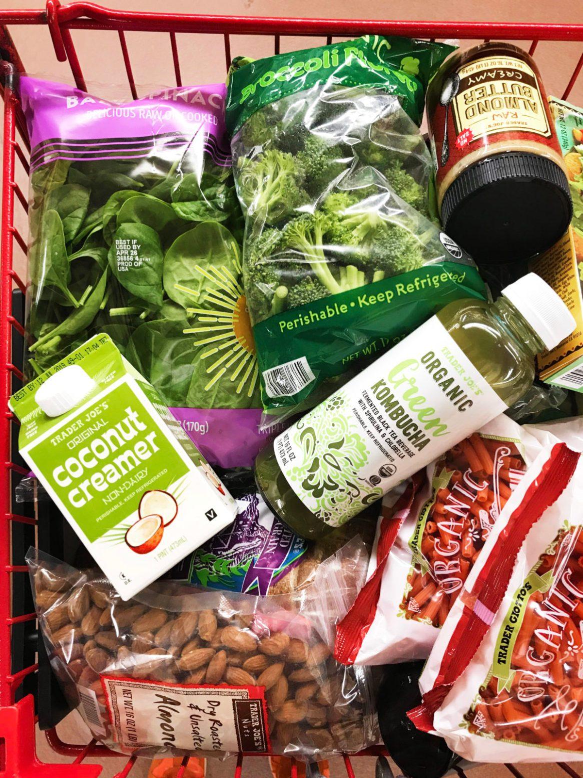 trader joes organic green kombucha trader joes coconut creamer