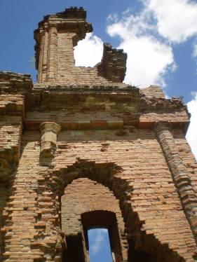 Ruinas de Humaitá. Miguel H. López