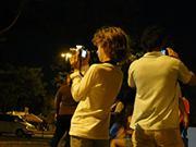 Fotos a la noche. Cecilia Medina Carmagnola