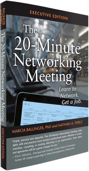 """""""The 20-Minute Networking Meeting"""" – A Welcome Additional To The Job Seeker's Tool Box"""