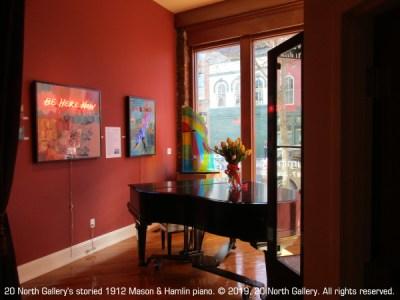 20 North Gallery's storied 1912 Mason & Hamlin Piano