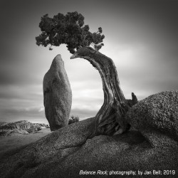 """""""Balance Rock"""" photography by Jan Bell"""