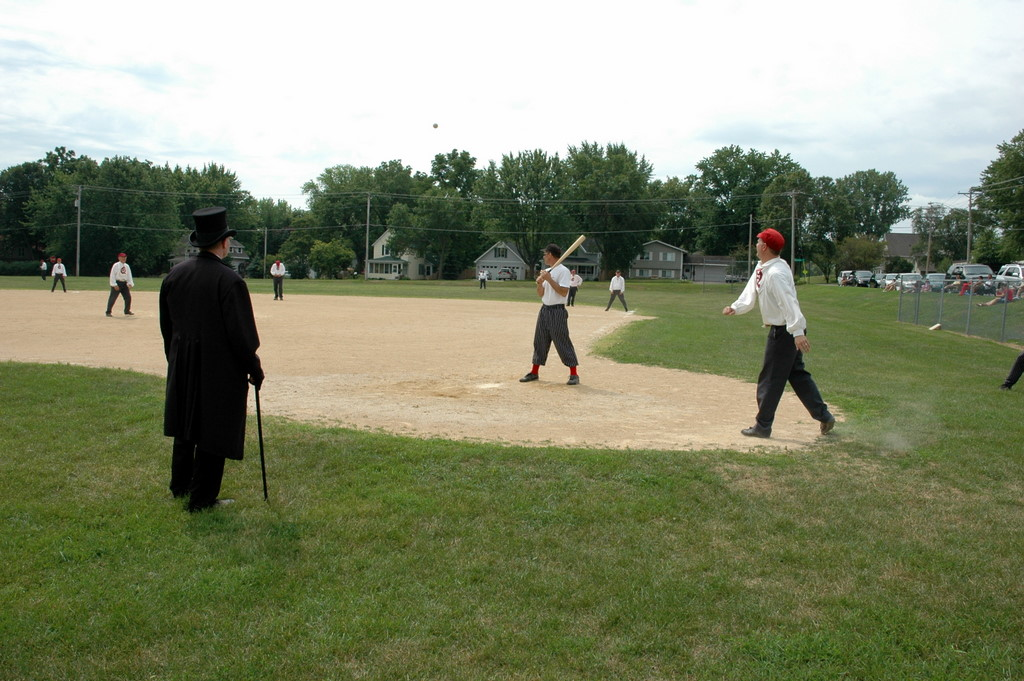 The civil war re-enactment of sporting events