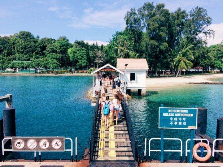 新加坡IG景點 :聖約翰島