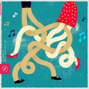 20 songs to dance your shoes off (design by Florencia Castiñeira) | 20songsto.com