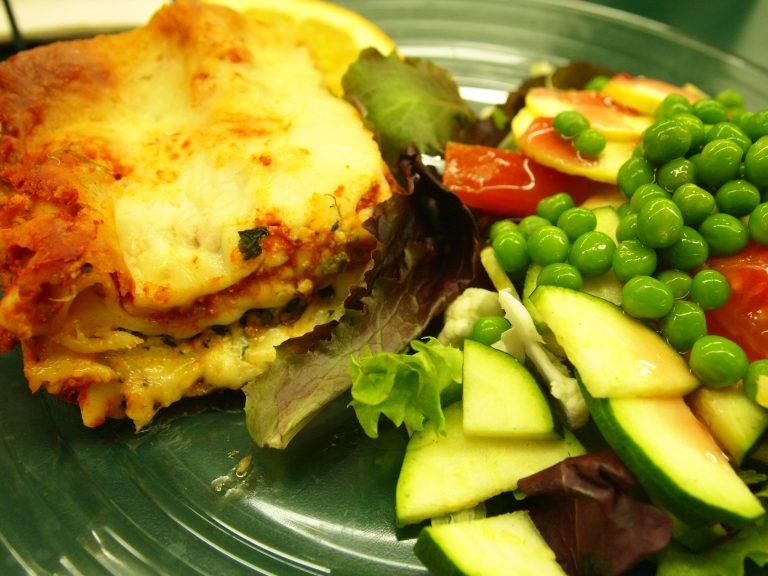 Spinach Lasagna at Sunshine Health Foods