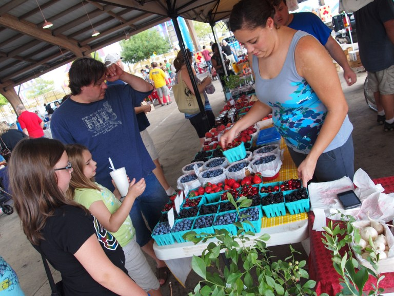 An image of the Shreveport Farmers Market