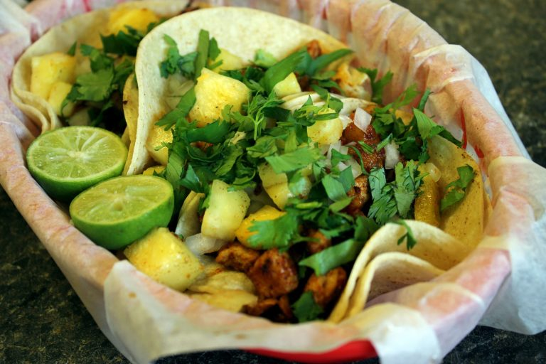 A photo of an al pastor taco from Salsitas in Shreveport
