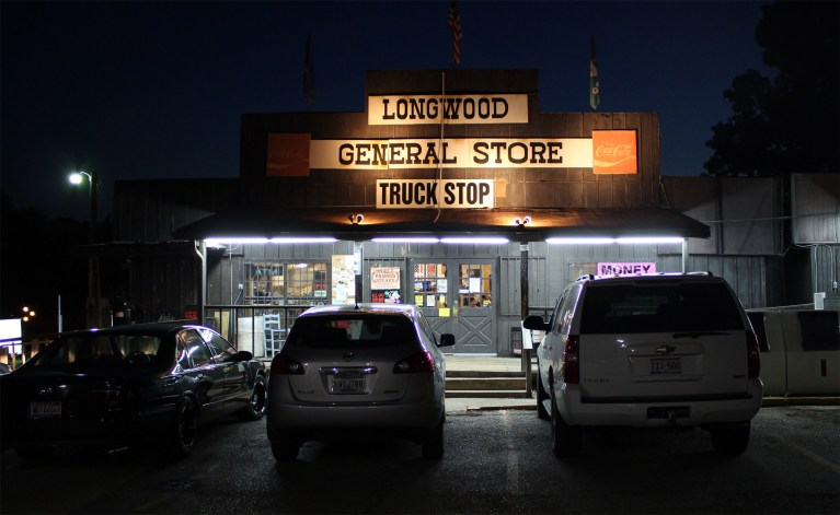 The exterior of Longwood General Store