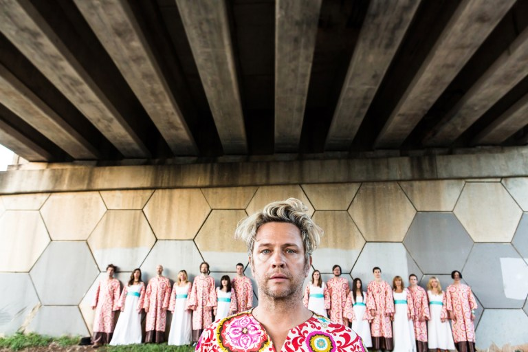 A photo of Polyphonic Spree