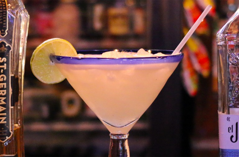 A photo of a margarita from Fatty Arbuckle's