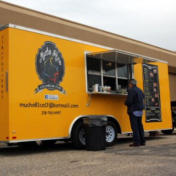 A photo of the Mucho Rico food truck