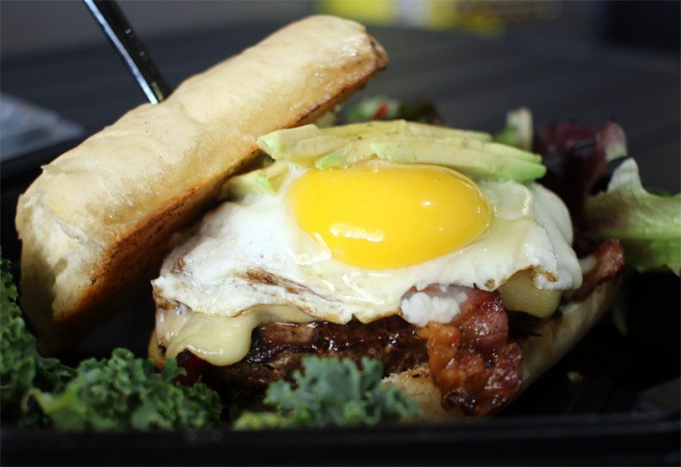 A photo of the Twenty Dollar Burger from The People's Market