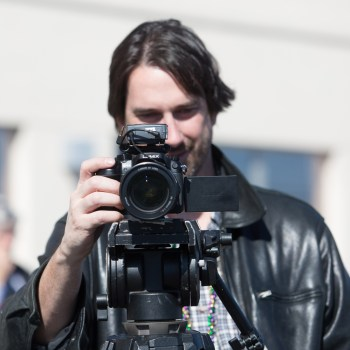 A photo of a photographer
