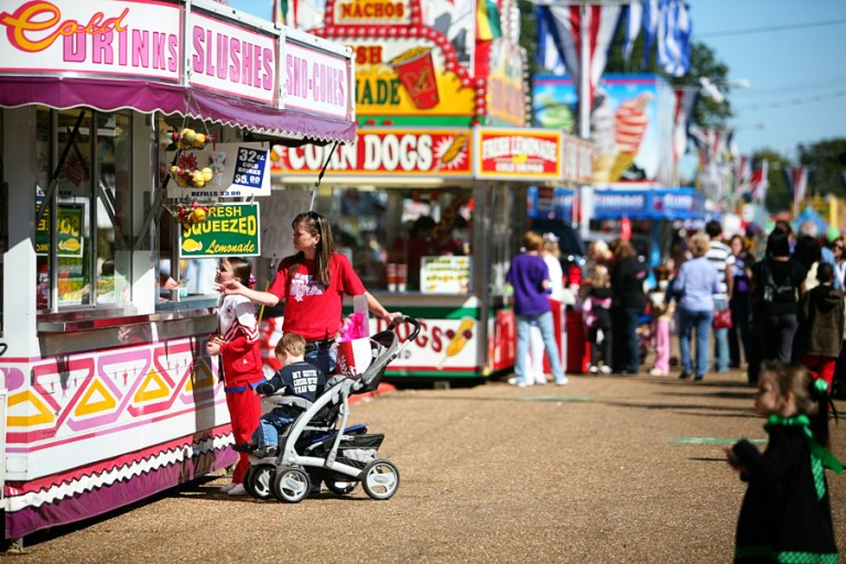 A photo of the State Fair of Louisiana