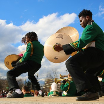 A photo of the Krewe of Harambee Parade