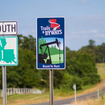 A photo of the Boom or Bust Byway