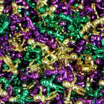 A photo of thousands of king cake babies