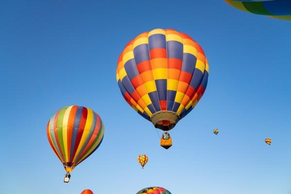 Red River Balloon Rally balloons