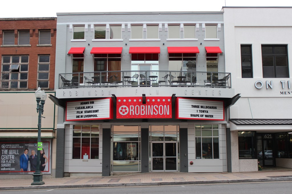 Exterior photo of Robinson Film Center in Downtown Shreveport