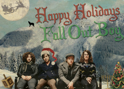 with the holiday season a million days away we wanted to get this out to you. its a fall out boy advent calendar. it is non-denominational ofcourse, but mostly just for those of us who love chocolate. weve been working on it since this summer. im sure @gomerch will have it up for sale in the next few weeks keep bugging them.