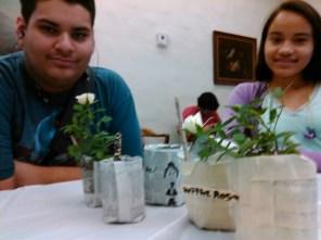 Paper Planters