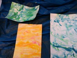 marbled paper!