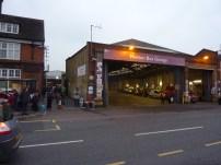 Merton Bus Garage - external view