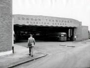 Norbiton Bus Garage, 1968 (Kingston Museum and Heritage Service, K1-2001)